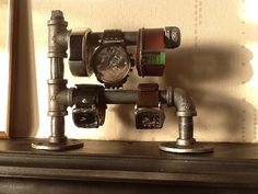 Industrial Watch and Jewelry Holder                                                                                                                                                     More