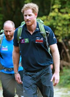 Prince Harry travels to the country next week on business, which will put him in the same town as a famous ex.