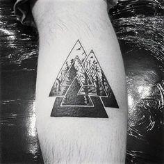 50 Valknut Tattoo Designs For Men – Norse Mythology Ink Ideas Mens Tree Forest Valknut Leg Calf Tattoo Ideas Mermaid Tattoos, Feather Tattoos, Leg Tattoos, Arm Tattoo, Sleeve Tattoos, Tatoos, Trendy Tattoos, Popular Tattoos, Small Tattoos