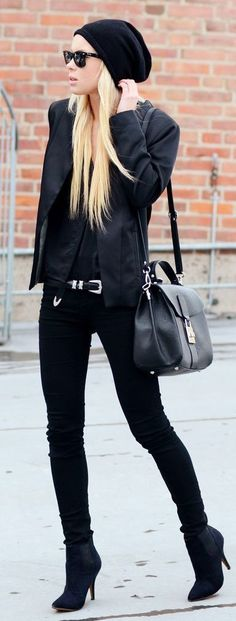 All Black Chic