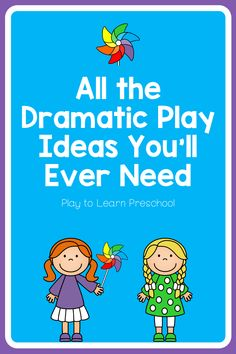 Tons of Dramatic Play Ideas for Preschool