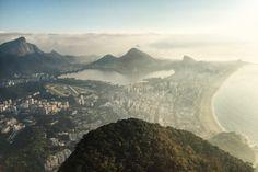 Morro Dois Irmaos Rio de Janeiro, Brazil