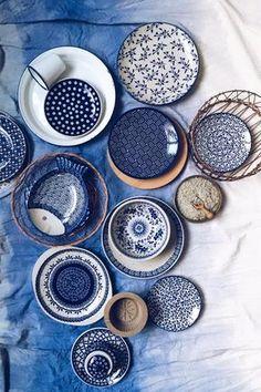 Bunzlauer Keramik- neueste Kollektion. Latest Collection of Polish Pottery allready in my shop ;) www.homemode.de