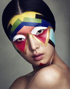 #makeup #geometry