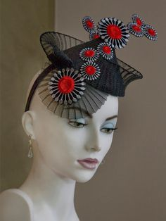 ali courtney pleated crin #millinery #judithm #hats