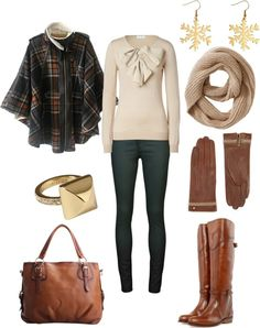 """""""Baby it's cold outside winter outfit"""" by natihasi on Polyvore"""
