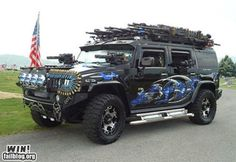 My Dream Car... wow that's really cool hummer