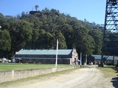 Former power house for the Departmental  Coal Mine, Lithgow. Now part of the Lithgow State Mine Museum.