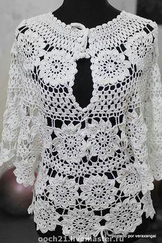 Fabulous Crochet a Little Black Crochet Dress Ideas. Georgeous Crochet a Little Black Crochet Dress Ideas. Crochet Bodycon Dresses, Black Crochet Dress, Crochet Tunic, Irish Crochet, Crochet Clothes, Crochet Lace, Crochet Stitches, Crochet Patterns, Knitting Patterns
