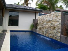 Energy Saving Water Feature Do it your self kit - All you require is this kit for you to create your dream water feature. Water Wall Fountain, Water Fountain Design, Dream Water, Outdoor Waterfalls, Diy Water Feature, Cascade Water, Stone Cladding, Luxury Pools, Water Walls