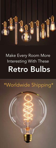 Retro Vintage Bulbs On Sale