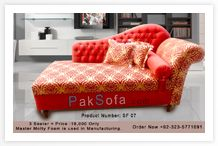 Pattern is ugly, but the sofa looks comfy.