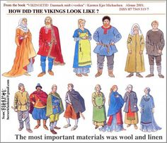 How did the Vikings look like