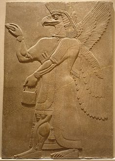 Relief panel Period: Neo-Assyrian Date: ca. 883–859 B.C. Geography: Mesopotamia…