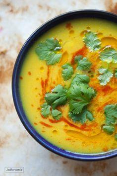 jadłonomia · roślinne przepisy: Krem curry z kalafiora