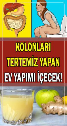 Homemade Beverage Recipe for Natural Colon Cleansing- Doğal Kolon Temizliği İ… – Sebze yemekleri – The Most Practical and Easy Recipes Fruit Drinks, Beverages, Morning Detox Smoothie, Healthy Habits, Healthy Life, Healthy Sport, Detox Kur, Smoothie Challenge, Natural Colon Cleanse