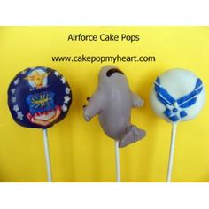 Air Force Cake Pops