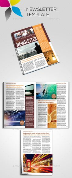 free indesign newsletter template design no 2 free indesign