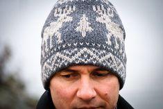 Reindeer Hat, free pattern by Helena Bristow