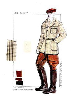 The Quest.  Costume Design for Jean Claude Van Damme.  #josephporrodesigns