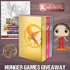Hunger Games YA Books Giveaway