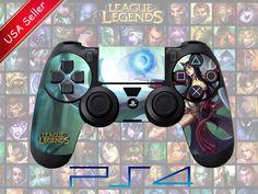PS4 Controller Skin League of Legends Ahri