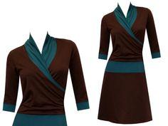 Entdecke lässige und festliche Kleider: Kleid winter Yara - viele Farben made by ungiko via DaWanda.com