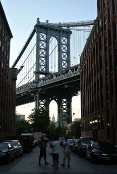 Manhattan Bridge. NYC