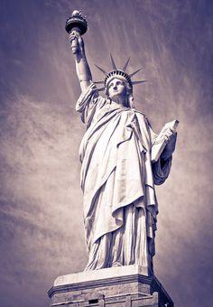The Statue of Liberty, Liberty Island, New York