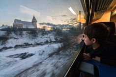 For the first time on a journey by train Photo by Valentin Novacovschi — National Geographic Your Shot