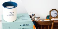 Sideshow Press Candle Set — The Dieline - Branding & Packaging