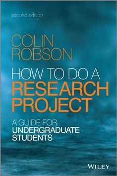 22 best research methods and academic skills new books images on how to do a research project a guide for undergraduate students by colin robson fandeluxe Choice Image