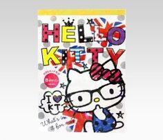 An image of Hello Kitty Memo Pad: Nerd