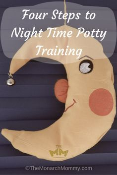 Four Steps to Night Time Potty Training
