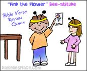 """""""Find the Flower"""" Beatitudes Sunday School Lesson from www.daniellesplace.com"""