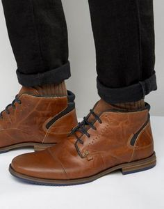 Dune Choppa Leather Boots