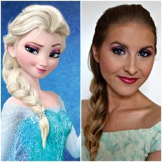 Disney's Frozen: Elsa Makeup Tutorial | thegoodstuff