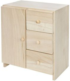 Schränkchen aus Holz, 17,5 x 12,5 x 16 cm € 7,95