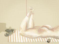 Le temps est bon  Ilustración por Bran Sólo