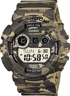 G-Shock GD120CM-5 Woodland Camo Digital Watch