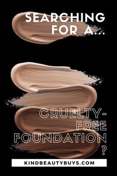 If you're searching for a new cruelty-free (and vegan) foundation, then look no further. Check out this list of some of the best cruelty-free foundations to choose from. Find Amazon, Makeup Items, Cruelty Free Makeup, Makeup Cosmetics, Searching, Foundation, Hair Makeup, Vegan, Check