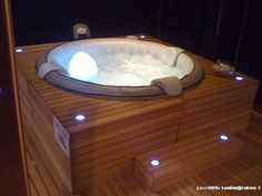 Image result for habillage de jacuzzi gonflable