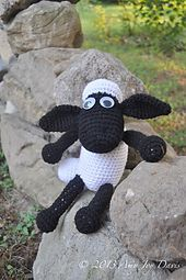 Amigurumi Shaun the Sheep - FREE Crochet Pattern / Tutorial