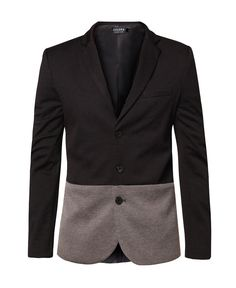 Colour Blocking Blazer by Zalora. Blocking blazer come with dual tone concept, v neck, open front, long sleeve, front pocket, inner linning, slimfit blazer made from good material, perfect for formal and casual occasion.    http://www.zocko.com/z/JFRQl