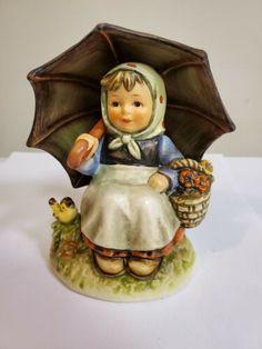 "Goebel Hummel Exclusive Edition No. 9 ""Smiling Through"" West Germany 1983 Goebel Figurines, Hummel Figurines, Rubber Doll, Farm Boys, Boy Fishing, Angels In Heaven, Vinyl Dolls, Christmas Makes, Germany"