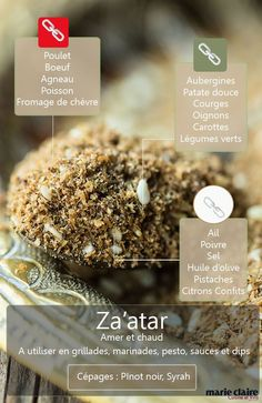 How to use za'atar in the kitchen Cooking Tips, Cooking Recipes, Healthy Recipes, Lebanese Recipes, Food Science, Dressing, Food Facts, Spice Mixes, Different Recipes