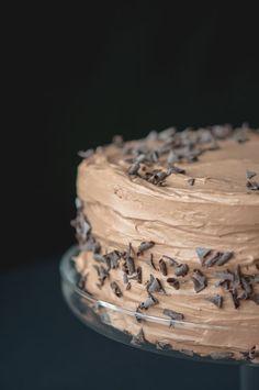Peanut Butter Chocolate Banana Cake