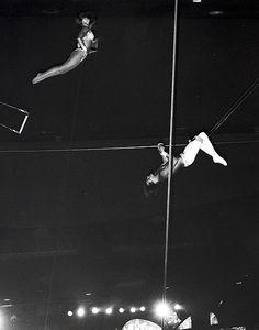 Terry Cavaretta's double layout at Circus Circus in Las Vegas.