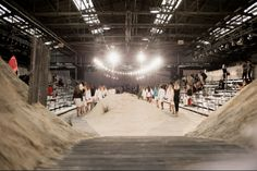 Tommy Hilfiger spring 2014 rtw - behind the scenes