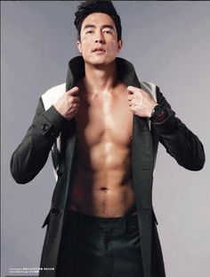 Let's all give thanks for 20 shirtless photos of Daniel Henney